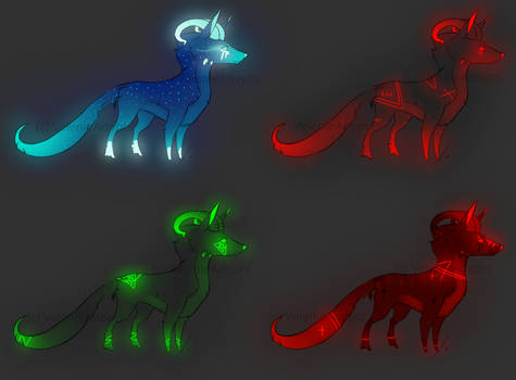 [OPEN][Auction] Halloween Creatures Auction