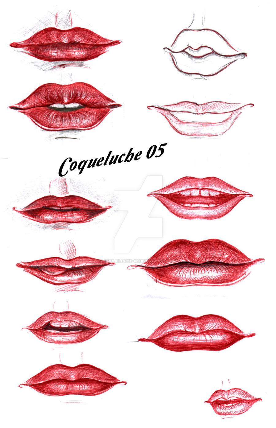 SKETCH - LIPS by Coqueluche-05 on DeviantArt