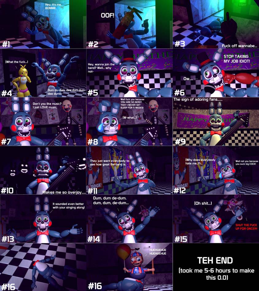 GMod FNaF 2] Toy Bonnie: The Annoying Prick    by