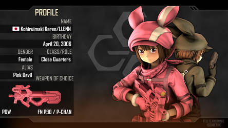 Operative Profile #1 - LLENN by FosterBonnie