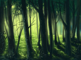 forest by lorilis