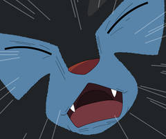 Scared Luxray