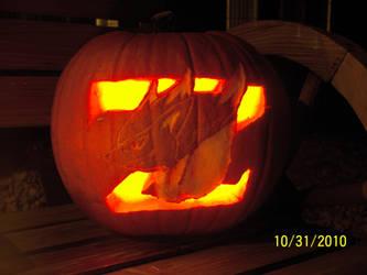 Zoroark Pumpkin -Night-