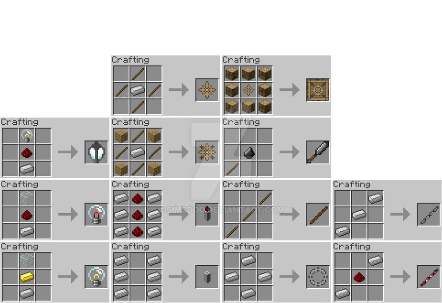 Minecraft wip recipes by simsdoc on deviantart minecraft wip recipes by simsdoc forumfinder Images