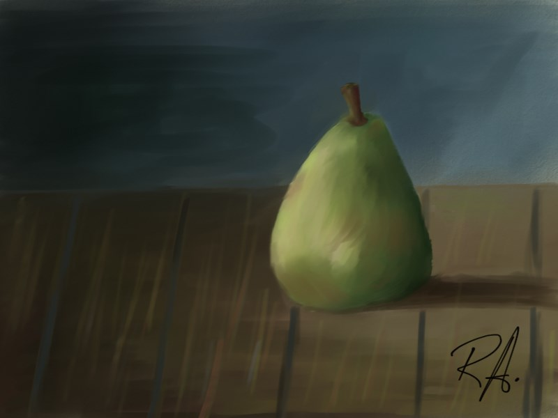 Pear (Knife/MyPainting 1.2) by RdLArts