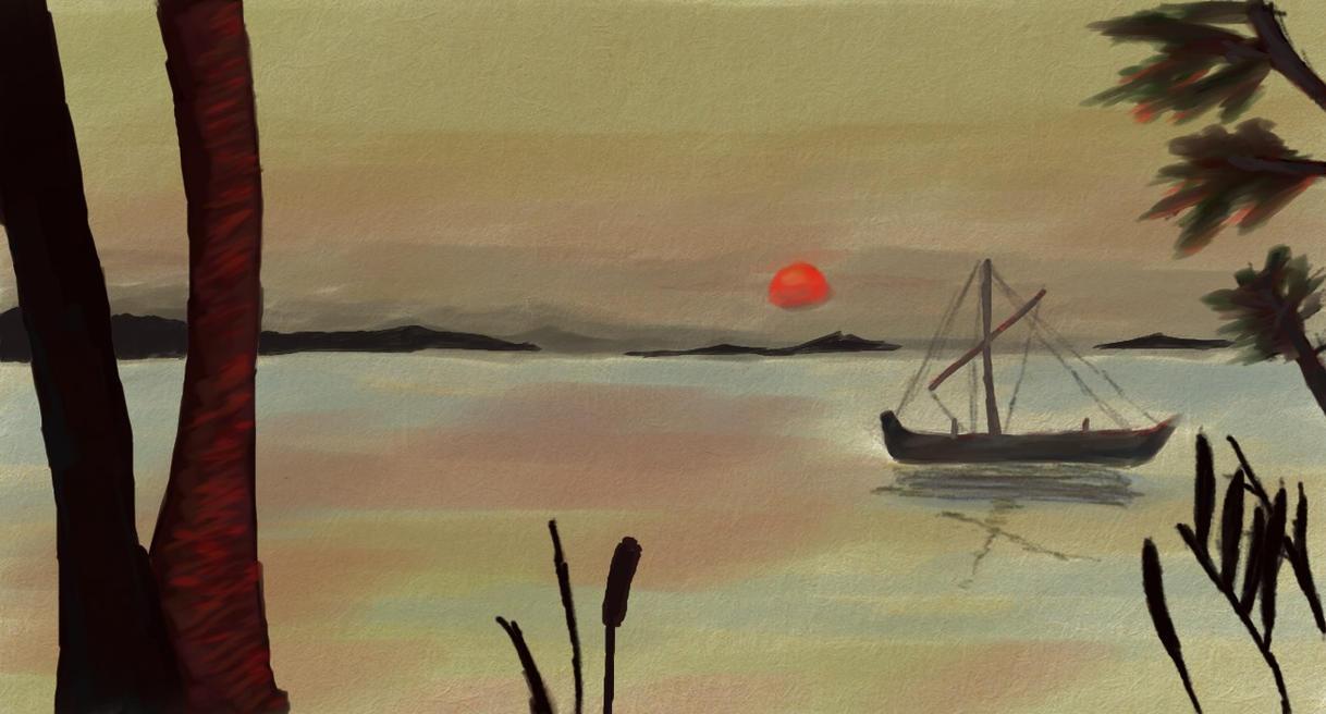 Red Sun by RdLArts