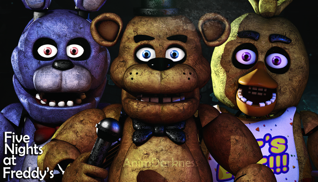 Five Nights at Freddy's by AnimDarkness