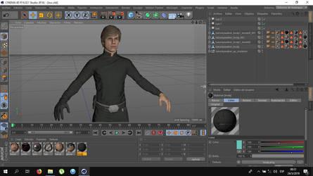 Luke Skywalker from Battlefront 1 (download soon)