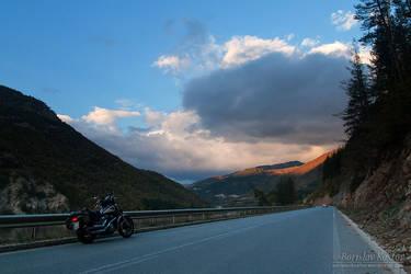 Autumn Roads III by Deformity