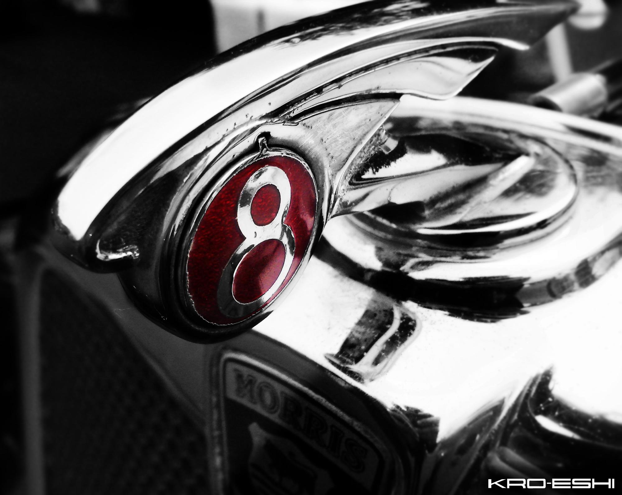 Morris Minor Emblem by