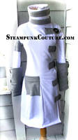 Snowbunny Steampunk Coat