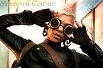 Connie in Steampunk Couture