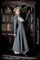 The Lady Grey Coat by ByKato