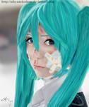 Portrait Of RedCappy  - Hatsune Miku