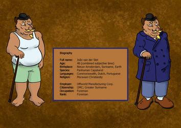 Van der Stel Character Design