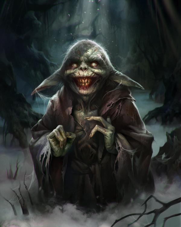 Yoda by LeraStyajkina