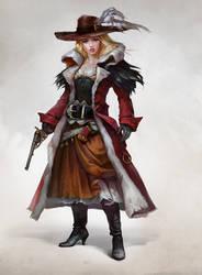 Musketeer of wild west by LeraStyajkina