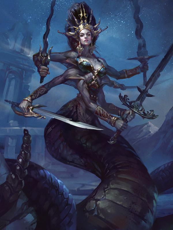 Naga Queen by LeraStyajkina