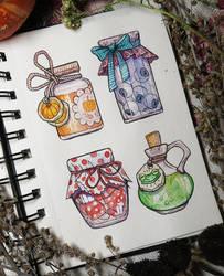 cozy things by LeraStyajkina