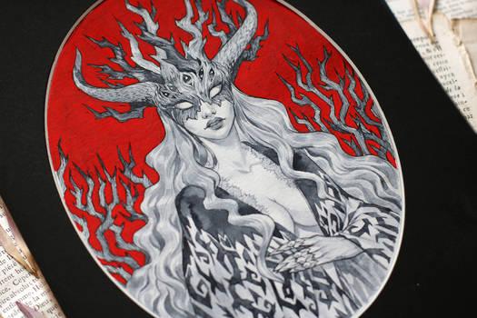 Demonic woman 3