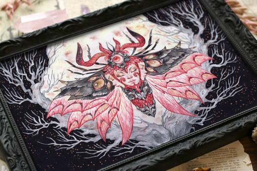 Demonic moth n4