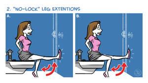 Exercises In A Public Restroom No. 2 by joelduggan