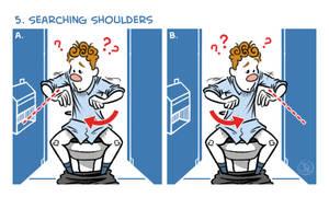 Exercises In A Public Restroom No. 5 by joelduggan