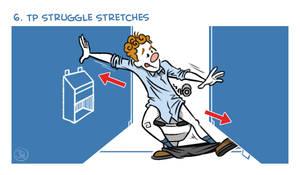 Exercises In A Public Restroom No. 6 by joelduggan