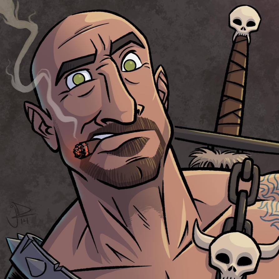 Cartoon Avatar - Mike aka Kash by joelduggan