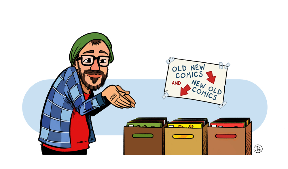 Friendly Neighbourhood Comic Book Guy by joelduggan