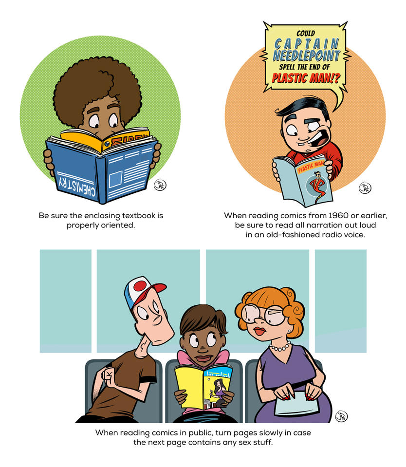 Avoid Common Comic Reading Mistakes by joelduggan