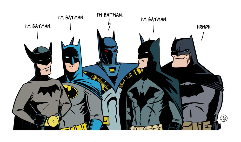 Batman: Time Passes Strangely by joelduggan