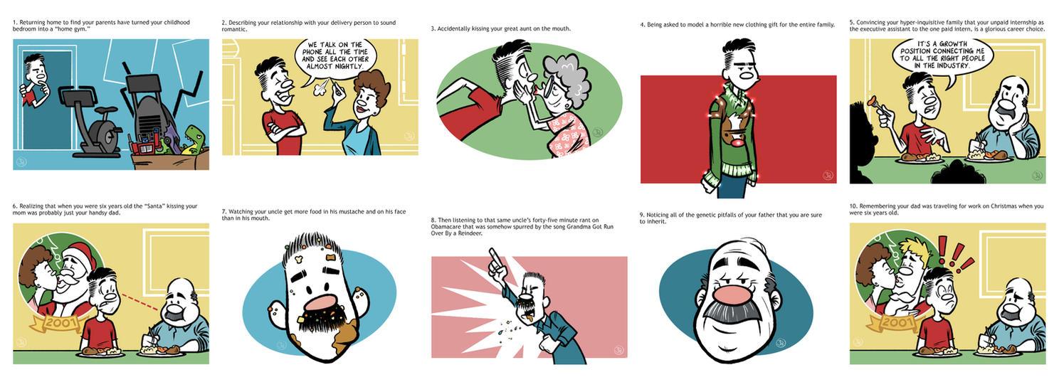 10 Uncomfortable Holiday Moments by joelduggan