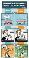 What The World Looks Like When You're On A Diet by joelduggan