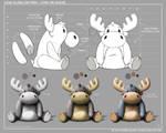 Come Along Critters - Stan The Moose - 2 by joelduggan