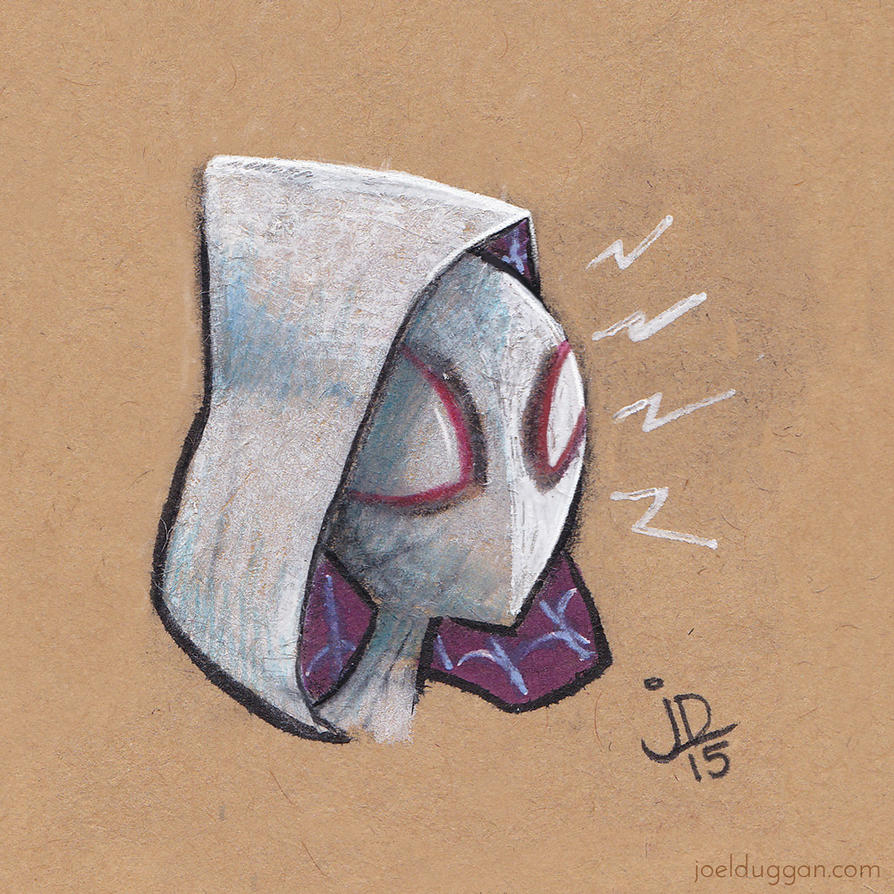 Quick Little Spider-Gwen by joelduggan