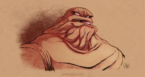 Clayface - @Sketch_Dailies by joelduggan