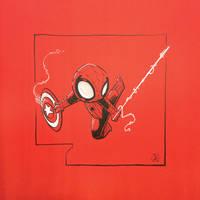 Chibi Spider-man Theif by joelduggan