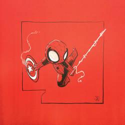 Chibi Spider-man Theif
