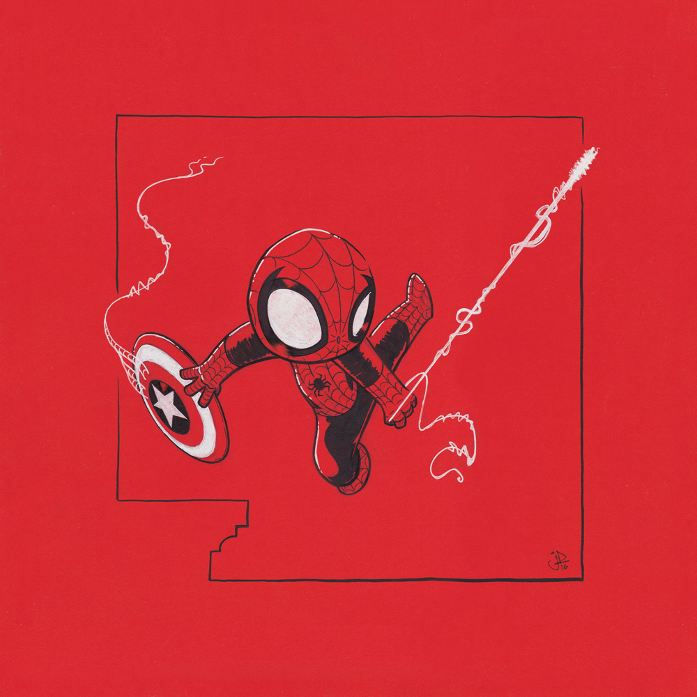 Chibi Spider-Man Thief II by joelduggan