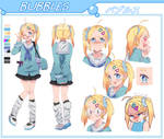 BUBBLES character sheet