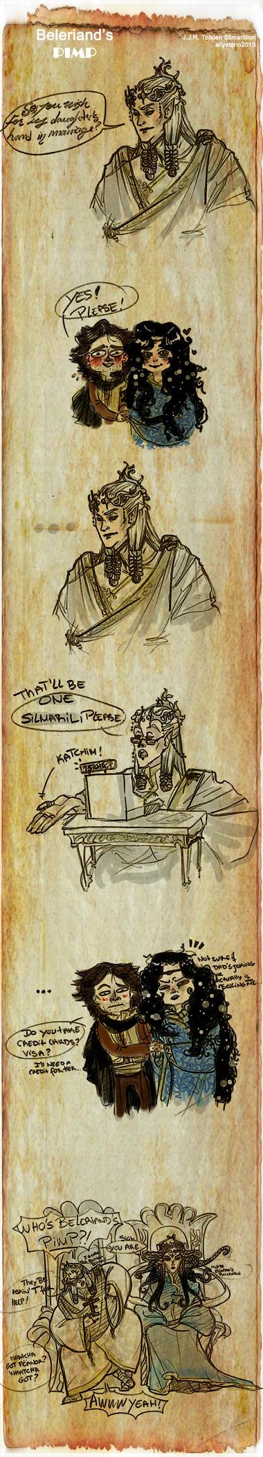 Silmarillion - Beleriand's Pimp by Allysterio