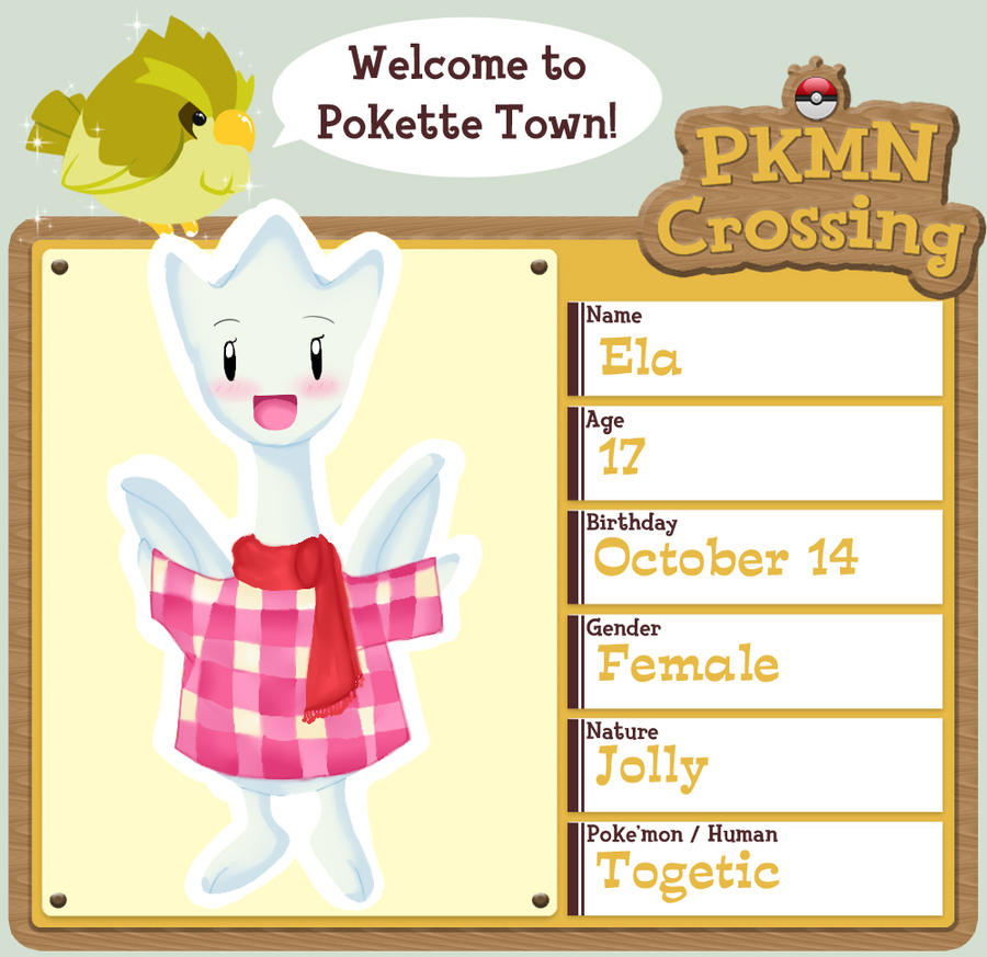 PKMN Crossing Application by Starpling