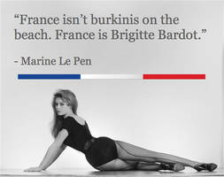 France is Brigitte Bardot. by Zarvona