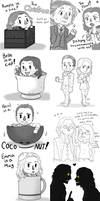 OUAT Doodle Dump by Dekujin