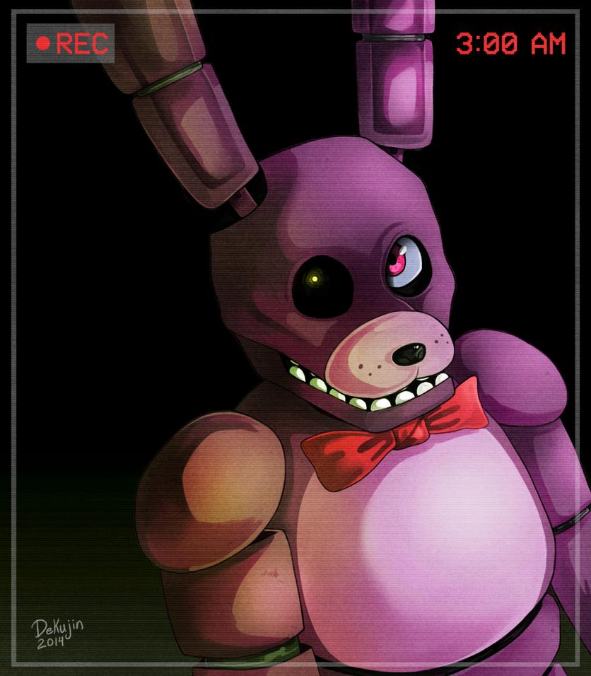 FNAF: Creepin' Bonnie by Dekujin
