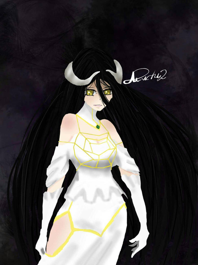 Albedo from Overlord by Annichu2