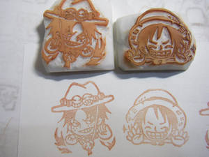 One Piece - rubber stamps