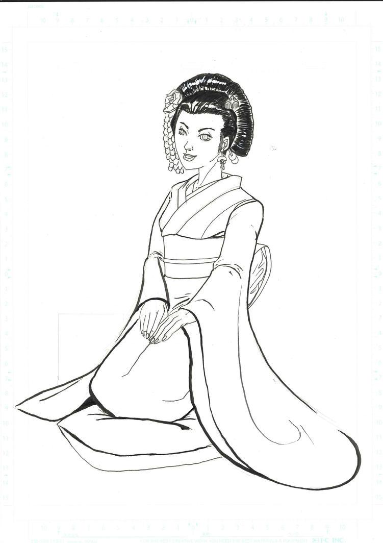 Geisha by MicktheUnbelievable