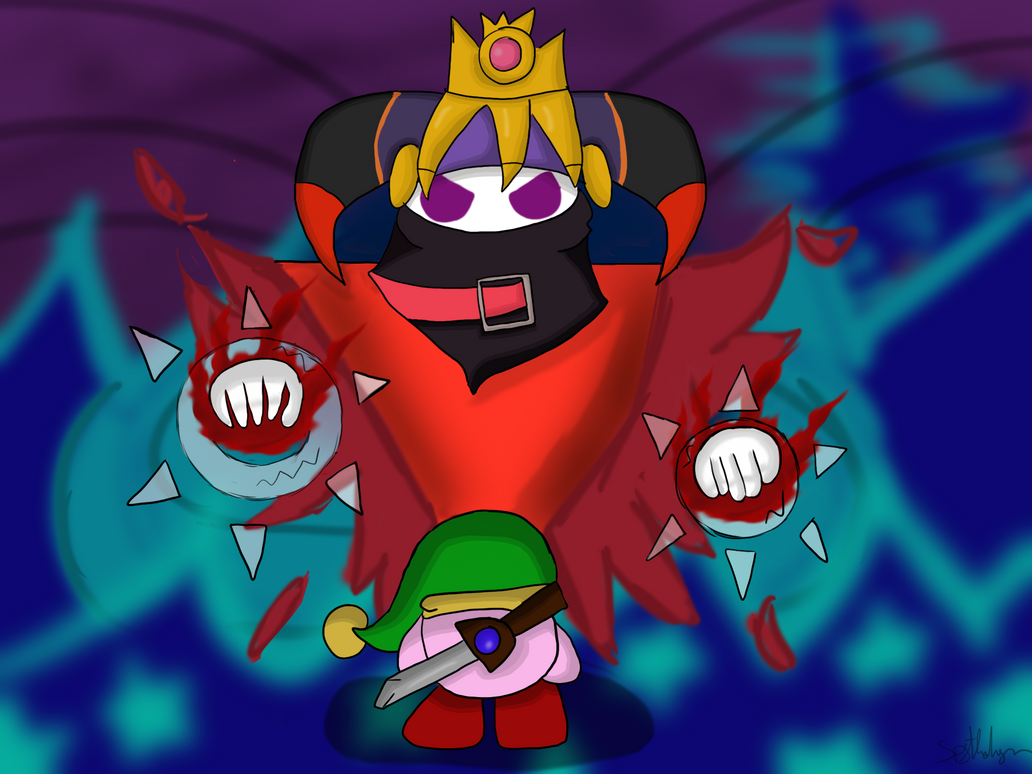 kirby vs magolor by spythedragon on deviantart